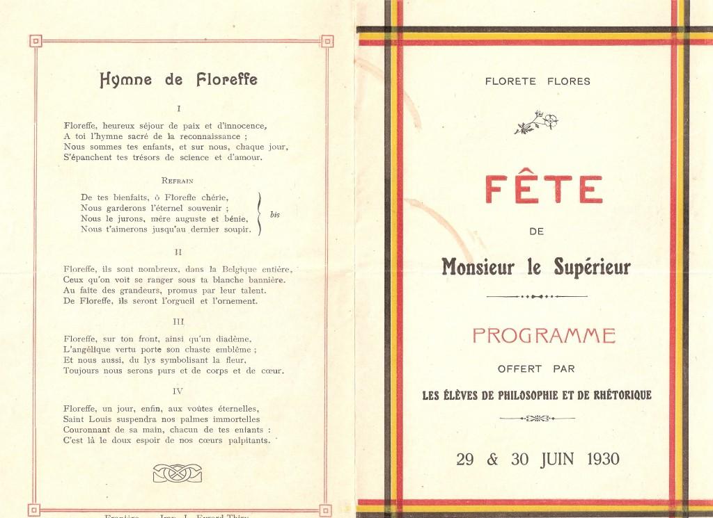 fête de Monsieur le Supérieur 1930 (1)