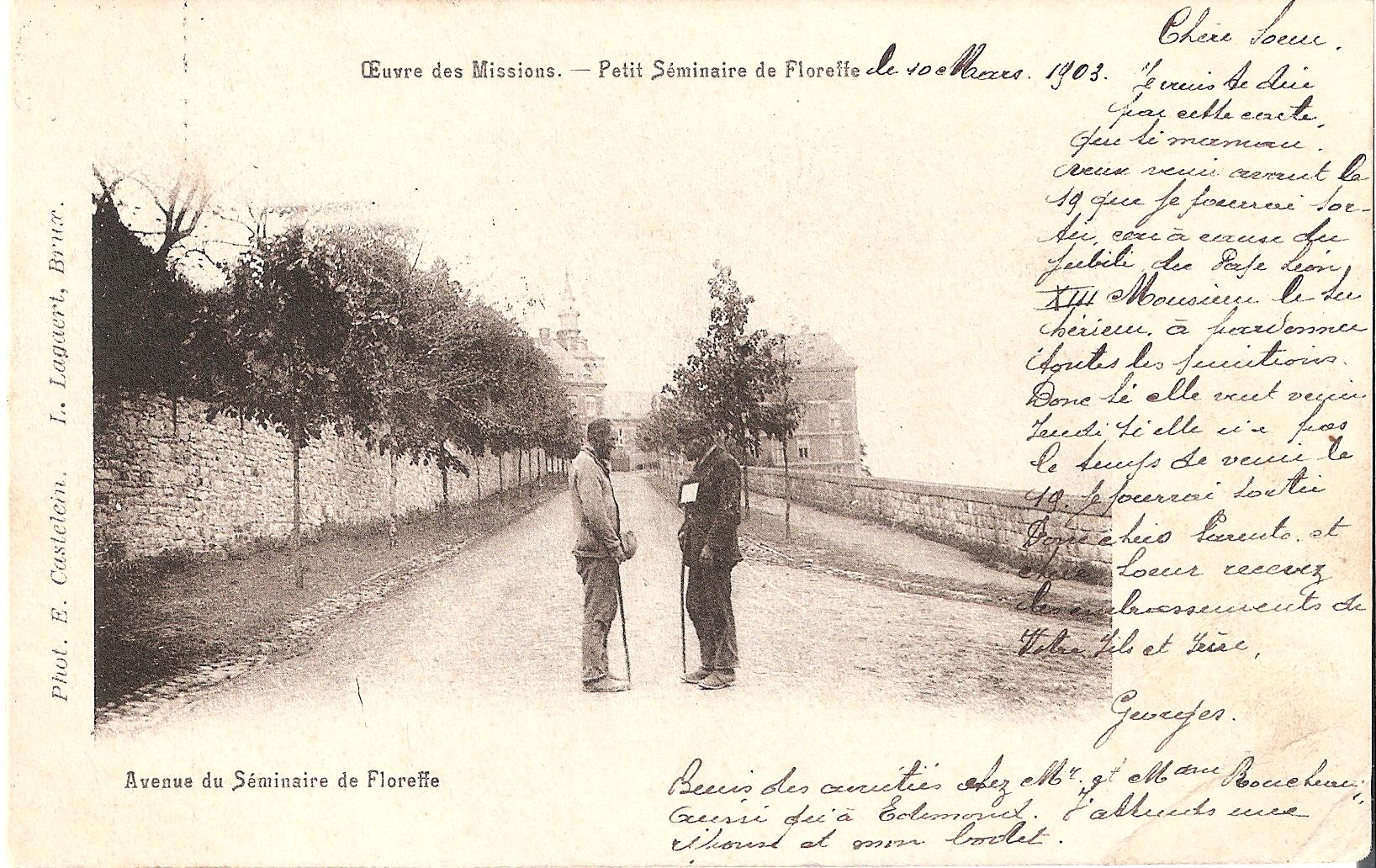 avenue du Séminaire de Floreffe