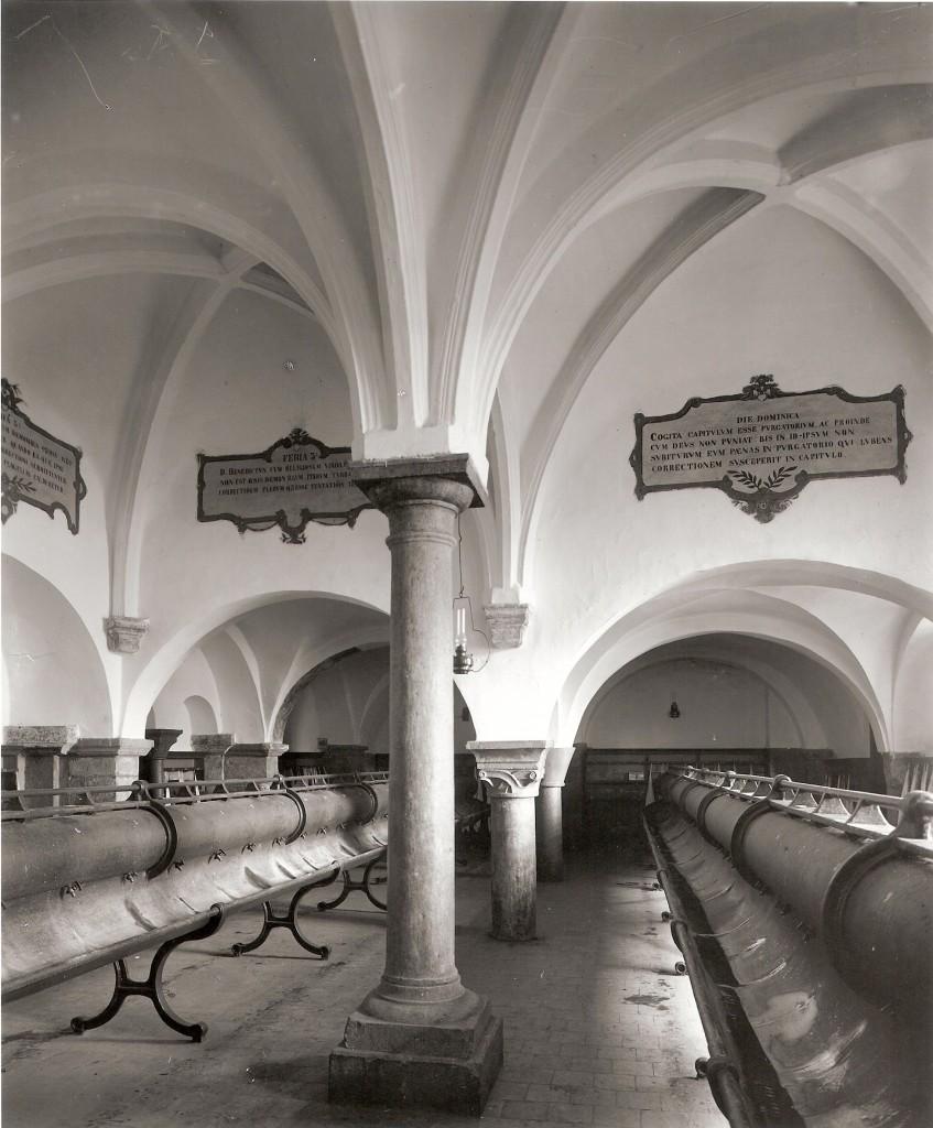 salle du chapitre (lavoir)