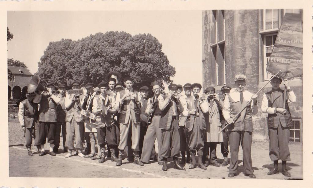 Claquembois - La fanfare - 21 juin 1949